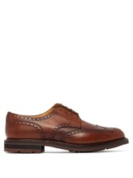 Church's Claverton Grained Leather Derby Brogues Brown