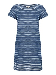 Linea Day Break Stripe Woven Dress Denim