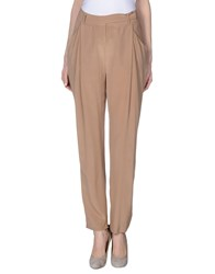 Alysi Trousers Casual Trousers Women Sand