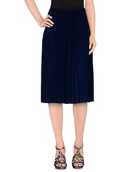 American Vintage Skirts 3 4 Length Skirts Women Dark Blue