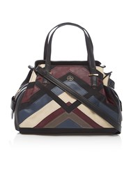Nica Ava Multi Patchwork Medium Tote Bag Multi Coloured Multi Coloured