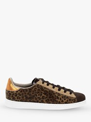 Victoria Shoes Tenis Animal Print Trainers Brown
