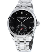 Frederique Constant Fc 285B5b6b Horological Smartwatch Stainless Steel Watch Black