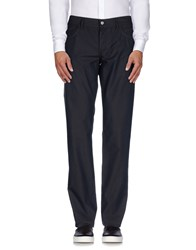 Dandg Trousers Casual Trousers Men Dark Blue