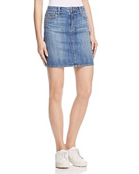 Paige Elaina Denim Skirt In Dorian