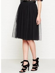 Needle And Thread Tulle Midi Skirt Black