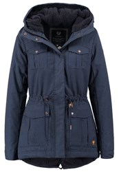 Ragwear Laika Winter Jacket Navy Dark Blue