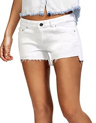 Dl Renee Cut Off Shorts White