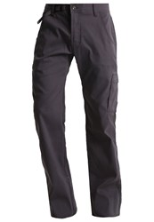 Prana Cargo Trousers Charcoal Dark Grey