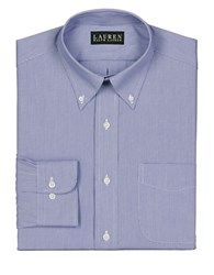 Lauren Ralph Lauren Striped Dress Shirt Blue