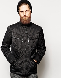 Schott Motorcycle Jacket Black