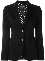 Dolce And Gabbana Fitted Blazer Black