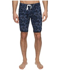 2Xist Jogger Slim Boardshorts Camo Navy Men's Swimwear Multi