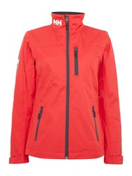 Helly Hansen Crew Midlayer Jacket Red