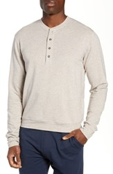 Tasc Performance Legacy Heathered Henley Crater Heather