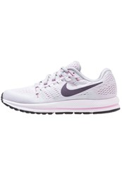 Nike Performance Air Zoom Vomero 12 Neutral Running Shoes Pure Platinum Purple Dynasty Wolf Grey