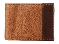 Johnston And Murphy Super Slim Wallet Tan Bill Fold Wallet