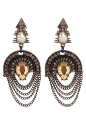 Aldo Agreawen Earrings Brown Multi