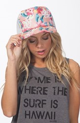 Women's Rip Curl 'Paradiso' Floral Print Trucker Hat