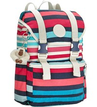 Kipling Experience S Small Backpack Spicy Stripe Bl