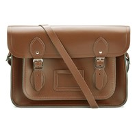 The Cambridge Satchel Company 13 Inch Leather Satchel Vintage Brown