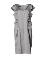 Martinelli Knee Length Dresses Grey
