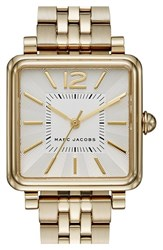 Women's Marc Jacobs 'Vic' Bracelet Watch 30Mm Gold Silver