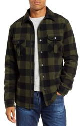 Smartwool Anchor Line Flannel Shirt Jacket Olive