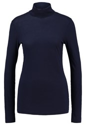 J.Crew Tissue Long Sleeved Top Navy Dark Blue