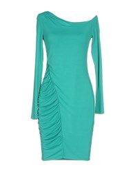 Guess By Marciano Short Dresses Green
