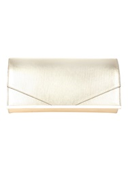 Jane Norman Gold Metalic Clutch