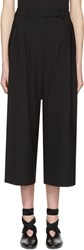 J.W.Anderson Black High Waisted Culottes