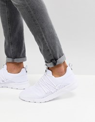 11 Degrees Runner Trainers In White