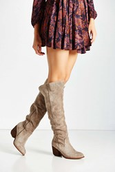 Jeffrey Campbell Oakmont Sherpa Lined Boot Taupe
