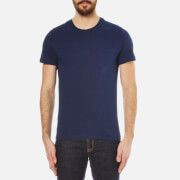 Belstaff Men's New Thom T Shirt Bright Indigo Melange Blue