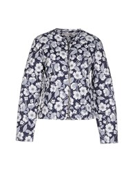 Stefanel Coats And Jackets Jackets Women Dark Blue