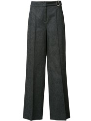 Dorothee Schumacher Structured Trousers Blue