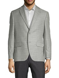 Jack Victor Conway Plaid Sportcoat Grey