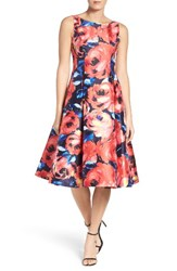 Adrianna Papell Women's Floral Print Gown