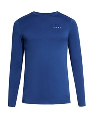 Falke Long Sleeved Performance Top Blue Multi
