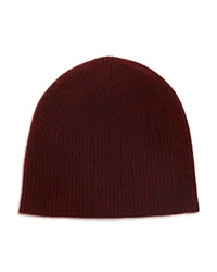 Vince Ribbed Marl Cashmere Beanie