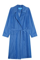 Mih Jeans Carmel Trench Coat Blue