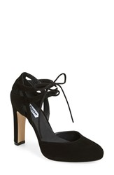 Dune Women's London 'Cannes' Lace Up D'orsay Pump