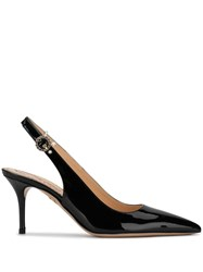 Charlotte Olympia Pointed Slingback Pumps Black