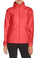 The North Face Women's 'Resolve Plus' Waterproof Jacket Cayenne Red