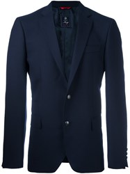 Fay Formal Blazer Blue