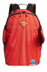 Sprayground Superman Cape Wings Backpack Red