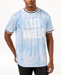 Guess Perforated Tie Dye Jersey Blue Tie Dye