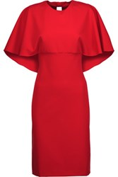 Mikael Aghal Layered Crepe Dress Us6