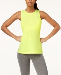 Ideology Heathered Keyhole Back Tank Top Created For Macy's Barbell